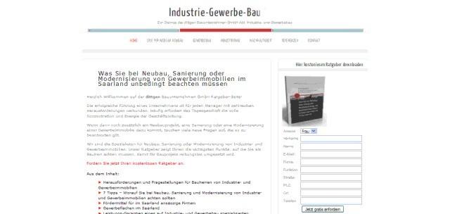 Industrie gewerbebau